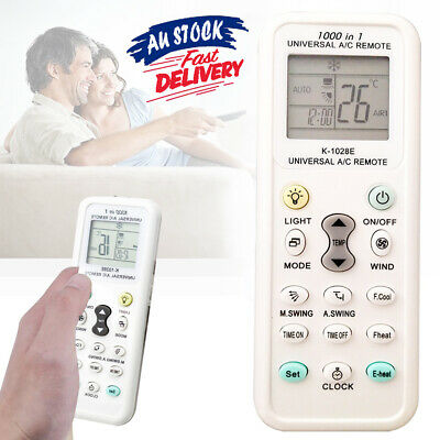 AU11.41 • Buy New For Air Conditioner Screen R Remote Controller Control LCD Universal A/C