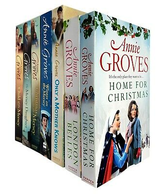 Annie Groves Only A Mother Knows, Winter On The Mersey 7 Books Collections Set  • 38.99£