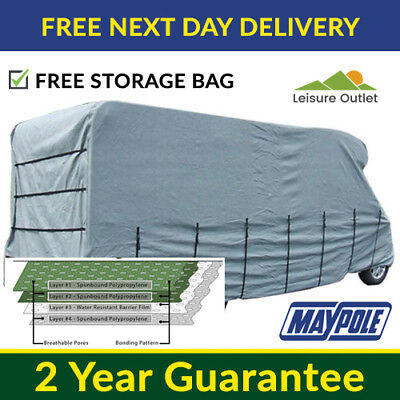 Maypole Premier Motorhome Cover - 7.0m To 7.5m – 4 Ply Breathable & Waterproof • 154.95£