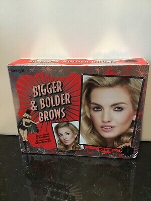 £16.28 • Buy Benefit Bigger & Bolder Brows Buildable-Color Kit #1   Includes 4 Items   NIB