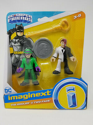 Imaginext DC Super Friends The Riddler & Two-Face • 16.42£