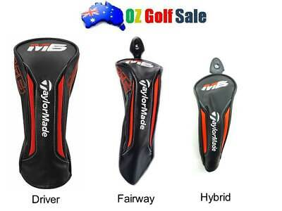 AU37.95 • Buy 1pcs TAYLORMADE M6 DRIVER /FAIRWAY WOOD /RESCUE HYBRID HEADCOVER HEAD COVER