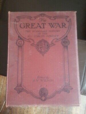 £85 • Buy The Great War H W Wilson. All 13 Volumes 1-13.