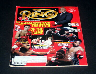 $9.99 • Buy The Ring Boxing Magazine December 1990 Annual Report State Of The Game