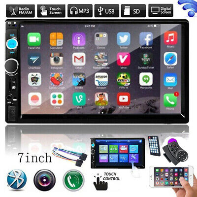 £45.99 • Buy Bluetooth Car Radio Stereo 7 Inch Double 2DIN FM USB/MP5 Player Touch Screen TF