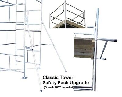 Classic DIY Scaffold Tower Safety Pack Upgrade Only - All Sizes • 149.95£