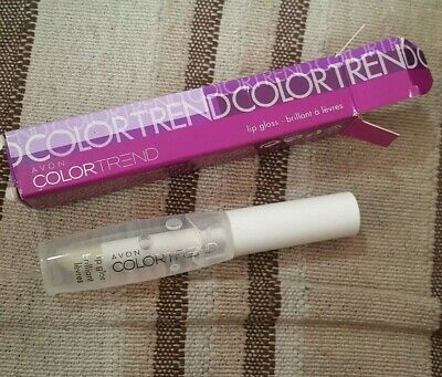 Avon Colour Trend Lip Gloss Clear Rare And Discontinued  • 4£