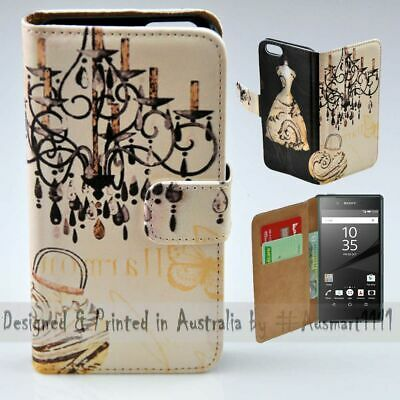 AU14.98 • Buy For Sony Xperia Series - Vintage Chandelier Theme Print Mobile Phone Case Cover