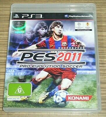 AU8.99 • Buy Sony Playstation 3 PS3 Game - PES 2011: Pro Evolution Soccer