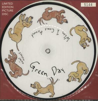 Green Day When I Come Around UK 7  Vinyl Picture Disc Single W0294X • 35.70£