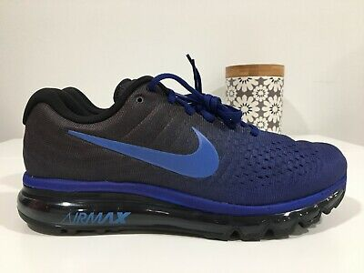 $109.95 • Buy Nike Air Max 2017 Blue Hyper Cobalt Running Shoes New In Box $190 (849559-401)