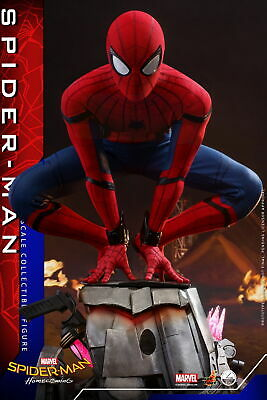 $ CDN861.91 • Buy Hot Toys Spider-Man: Homecoming 1/4th Spider-Man Collectible Figure QS014