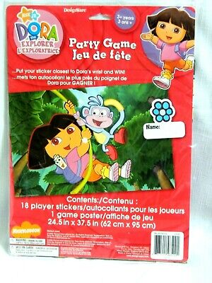 Dora The Explorer  -1-party Game  -party Supplies Flat Size  24.5  X 37.5  • 3.19£