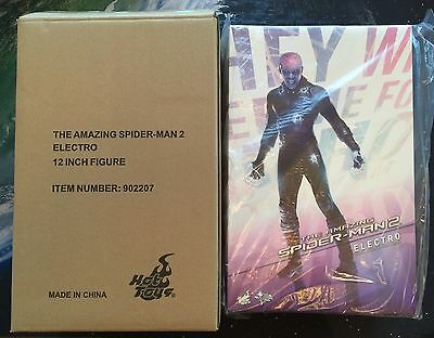 $ CDN215 • Buy HOT TOYS Electro 1/6 Sixth Scale 12  Figure NEW MMS246 Amazing Spider-Man 2