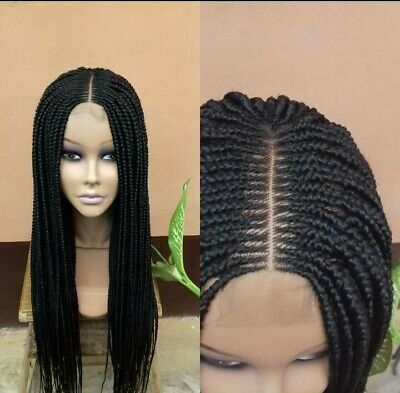 £75 • Buy Box Braided Hand Made Middle Part Wigin Black. Also #35,#33,#99.Ready To Ship!!