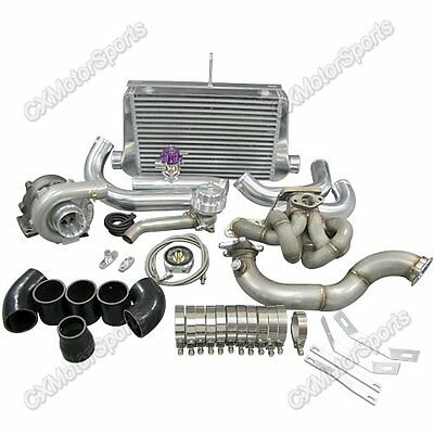 AU1885.23 • Buy T3 Top Mount Turbo Intercooler Kit For Corolla AE86 4AGE Black Hose