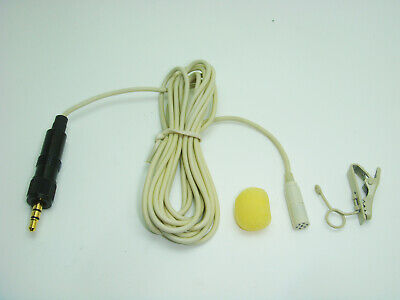 PROFESSIONAL LAVALIERE 2 METRE MICROPHONE FOR SONY TRANSMITTER 3.5mm JACK PLUG • 27.99£
