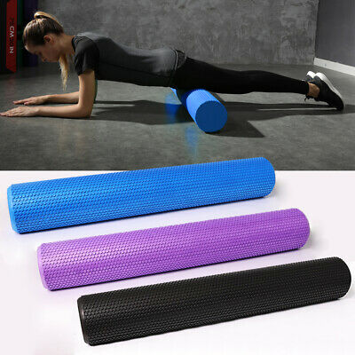 AU18.99 • Buy Pilates Foam Roller Long Physio Yoga Fitness GYM Exercise Training 30/45/60/90CM