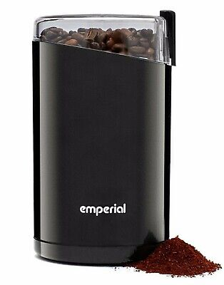 £14.99 • Buy Emperial Electric Coffee Grinder 140W Bean, Spice And Nut Mill Blender Black