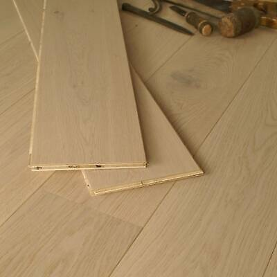 £2.49 • Buy 14mm Invisible Light Finished Engineered Oak Flooring T&G Boards EC24