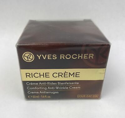 AU42.87 • Buy Yves Rocher Riche Creme Comforting Day Cream Full Size 50 Ml/ 1.6 Oz Sealed