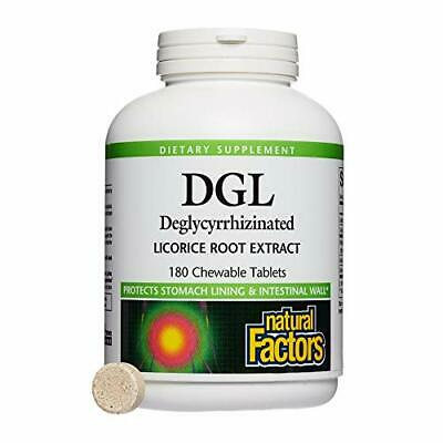 Natural Factors, DGL Licorice Root Chewable, Promotes A Healthy Stomach Lining A • 18.81£