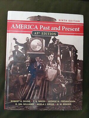 $35 • Buy America Past And Present: AP Edition, 9th Edition By Robert A. Divine
