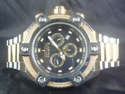 mens invicta diamond watch