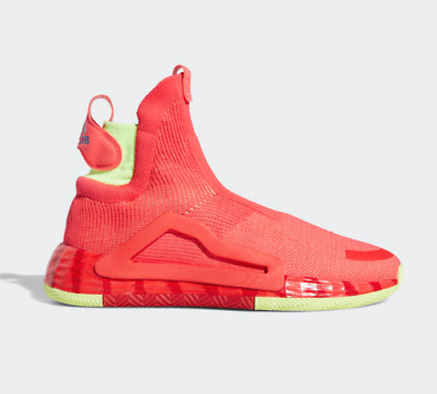 $ CDN75.80 • Buy Adidas O N3xt L3v3l Men's Shock Red Next Level Yellow Basketball Sneakers G27761