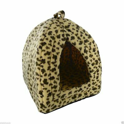 £7.95 • Buy Luxury Pet Cat Soft Comfy Igloo House Bed Kitten Puppy