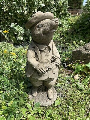 £27.50 • Buy Stone Garden Wind In The Willows 'mole With Hat' Concrete Statue Ornament