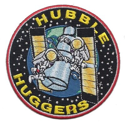 NASA Space Shuttle Mission 'Hubble Huggers' Space Telescope 4  Embroidered Patch • 7.99£