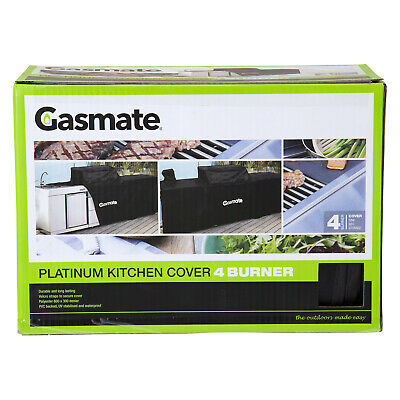 AU149.95 • Buy Gasmate Platinum Professional 4 Burner Kitchen Package BBQ Cover Gasmate