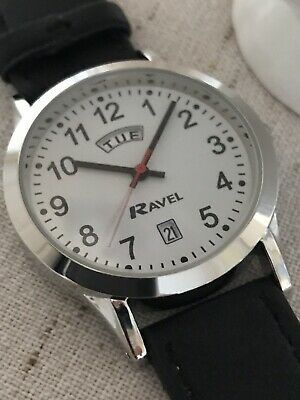 Ravel Men's Everyday Easy To Read Wrist Watch With Day And Date Feature • 9.99£