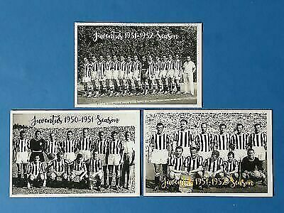 Set Of 3 Quality Football Soccer Team Postcards, Juventus FC Italy • 5£