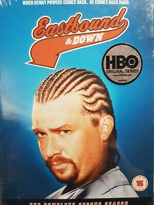 Eastbound And Down - Series 2 - Complete (DVD, 2011, 2-Disc Set) • 3.99£