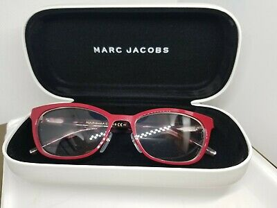 $64.99 • Buy Marc Jacobs Rx Eyeglasses Frames Marc 77  Size 52 Pink/Red & Tort