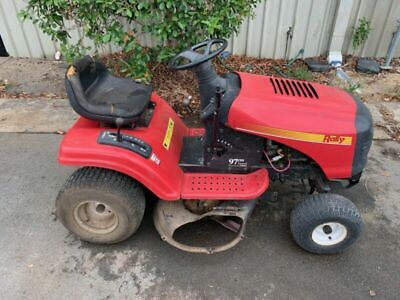 AU900 • Buy Rally 38  Ride-On Mower - 97cm Cutting Deck 12.5HP B&S M#REB13038 - 2008