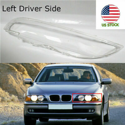 $42.29 • Buy Fit BMW E39 5 Series 96 97 98 99 00 Front Headlight Fog Lamp Lens Cover Durable