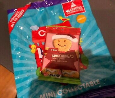 $3.46 • Buy Coles Little Shop Mini Collectable - Christmas Ginger Bread Man