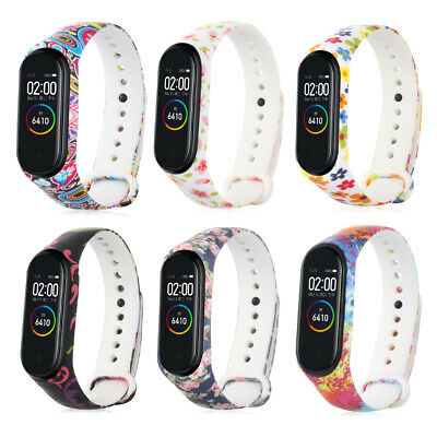 Sports Camouflage Silicone For Xiaomi Mi Band 4 3 Watch Band Bracelet Strap • 1.28$