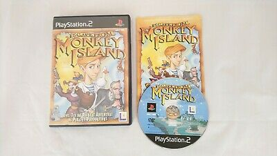 Escape From Monkey Island Sony Playstation 2 PS2 Game Complete  • 5.99£