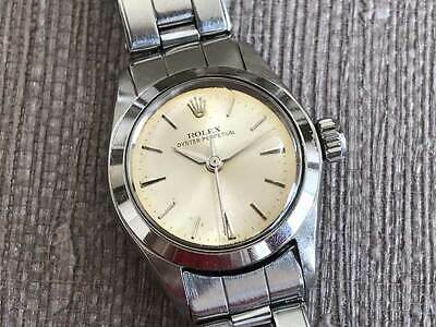 $ CDN2515.41 • Buy ROLEX Oyster Perpetual 6618 Automatic Winding Vintage Women's Watch 1960's