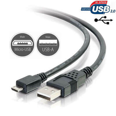 AU4.05 • Buy Micro USB Charging Charger Cable Cord Lead For Anker SoundBuds Slim Headphone