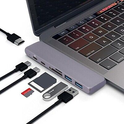 AU65.54 • Buy 2019 For MacBook Pro/Air Surface SD/TF Card Reader PD Charging 7 In 2 USB C Hub