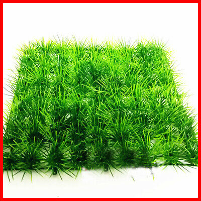 Artificial Landscap Lawn Fake Grass Plant Decor Fish Tank Aquarium Water Aquatic • 3.59£