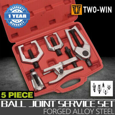 AU62.12 • Buy Ball Joint Remover Pitman Arm Puller Tie Rod Front End Separator Tool Kit 5pcs
