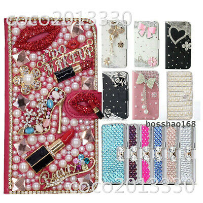 AU16.99 • Buy For OPPO A73 / F5 Bling Magnetic Flip Leather Stand Slot Wallet Case Phone Cover