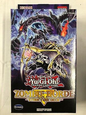 AU53.50 • Buy Yugioh Zombie Horde Structure Theme Deck For Card Game CCG TCG