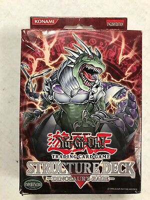 AU24.31 • Buy Yugioh Dinosaurs Rage Structure Theme Deck For Card Game CCG TCG